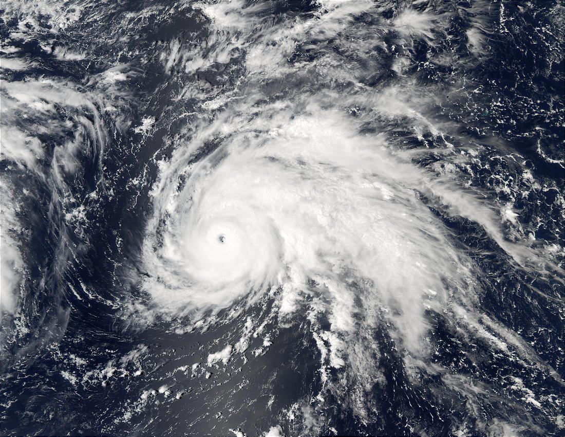 Typoon Ele (02C), Central Pacific Ocean