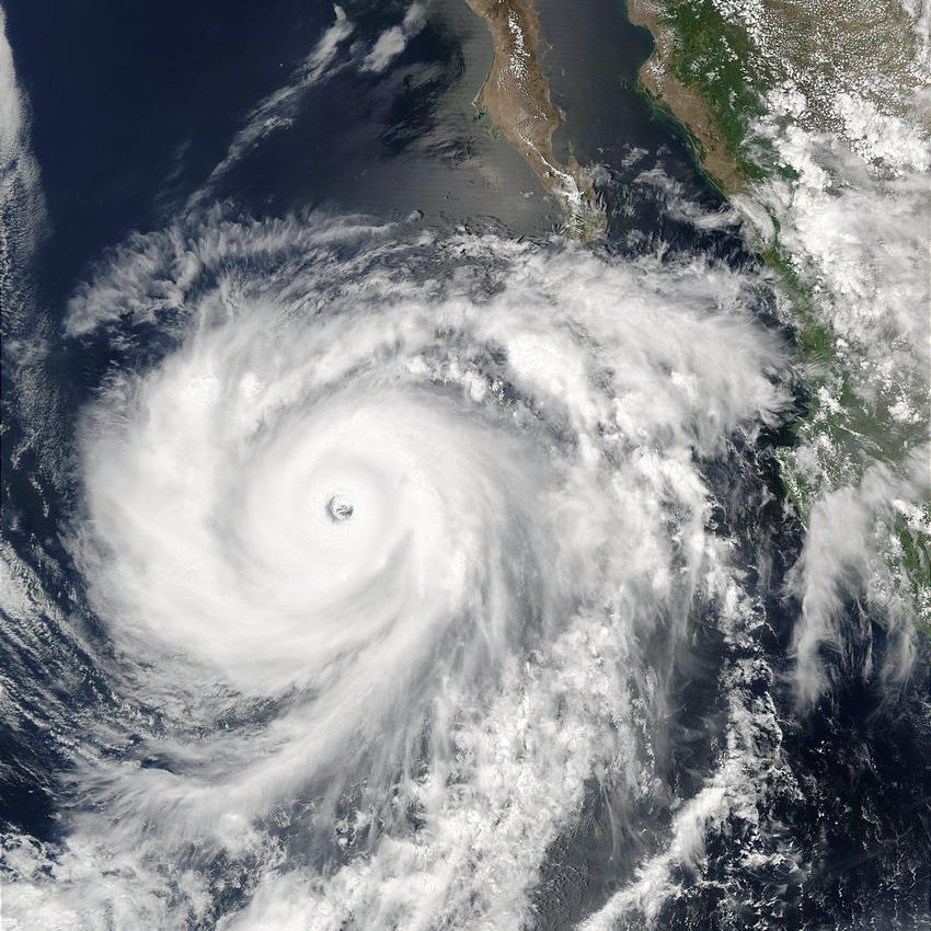 Hurricane Hernan (10E) Off Mexico