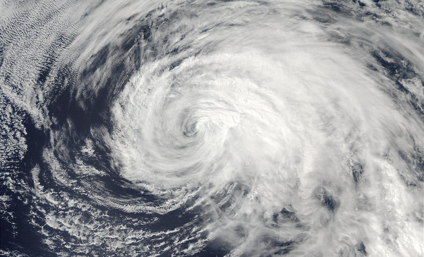 Typhoon Ele (02C) in Central Pacific Ocean