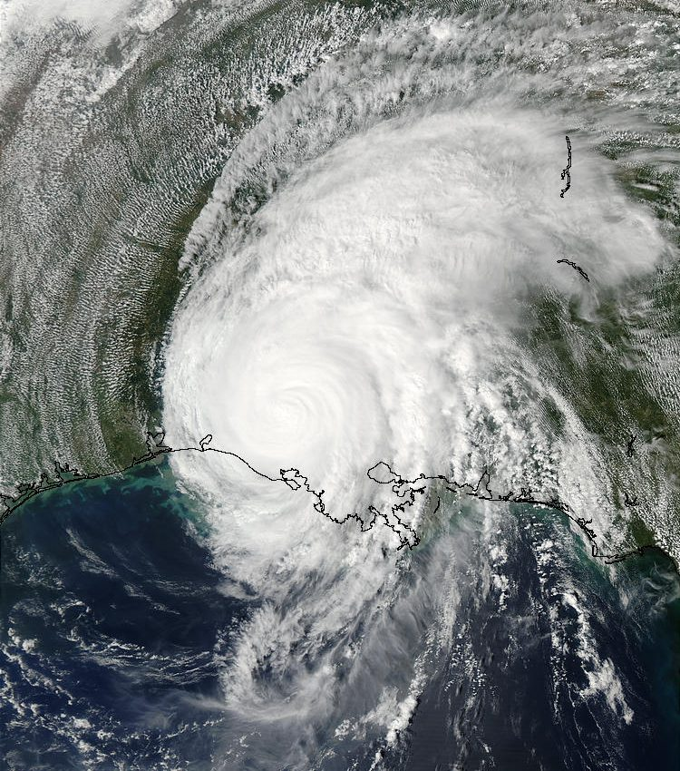 Hurricane Lili Over Louisiana