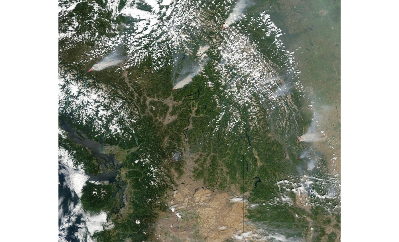 Fires Across Western Canada and United States