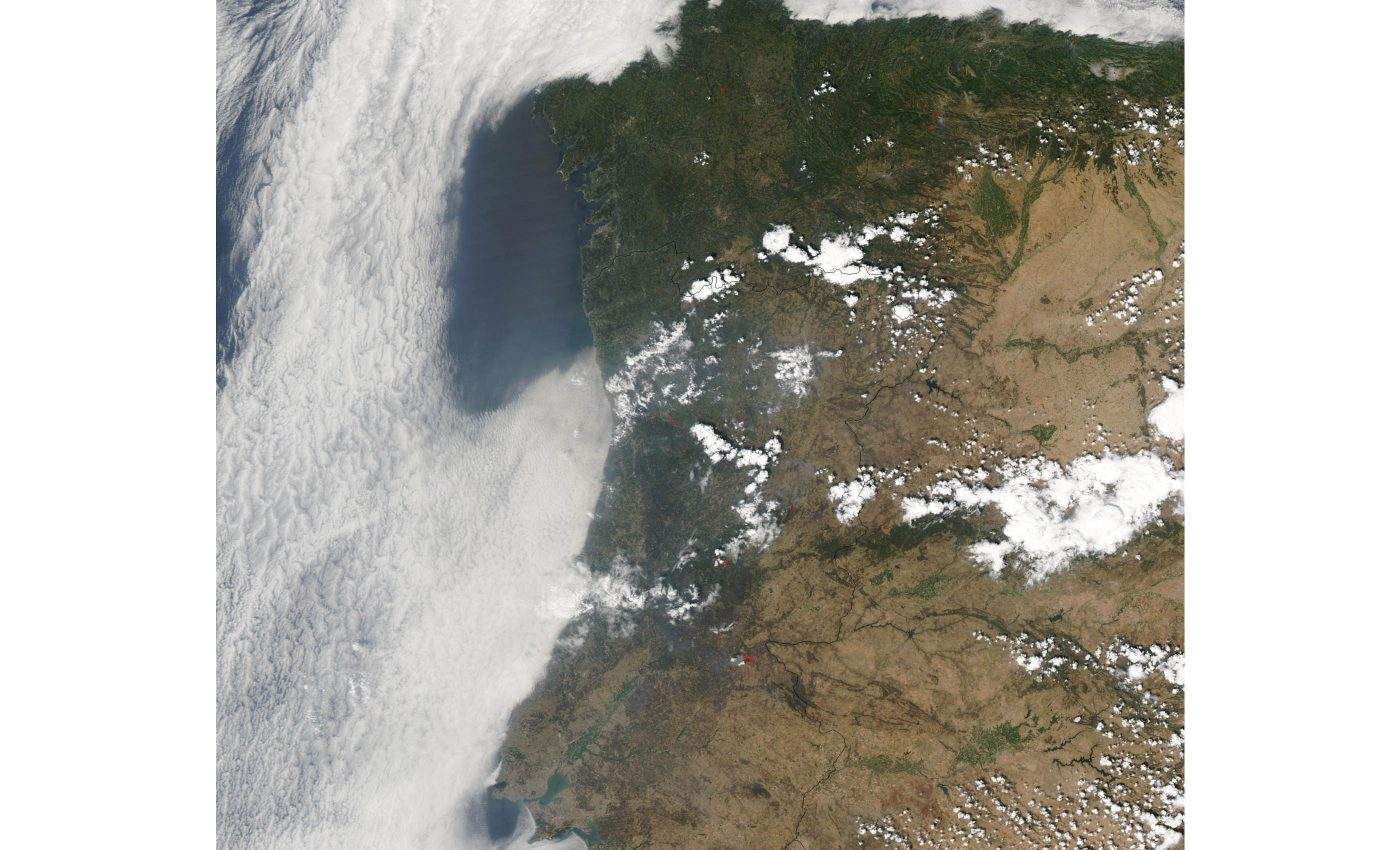 Fires in Portugal and Spain