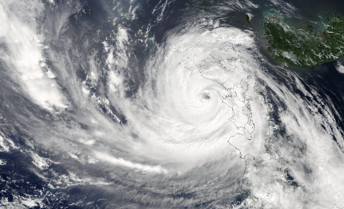 Typhoon Etau (11W) Over Japan