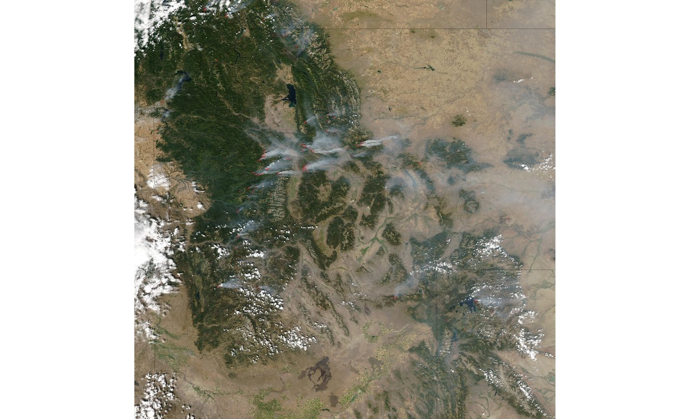 Fires and Smoke in Idaho and Montana