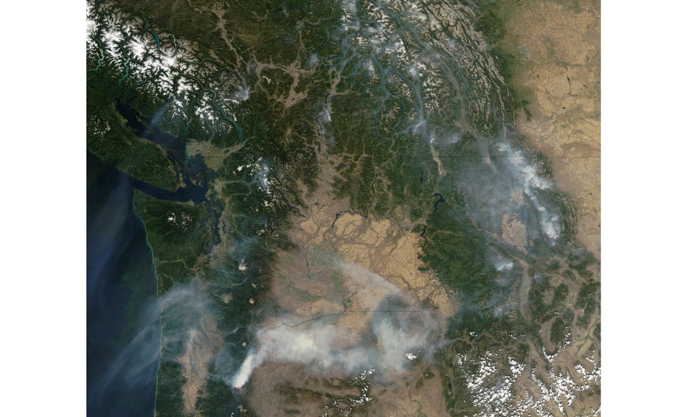 Fires and Smoke the Pacific Northwest