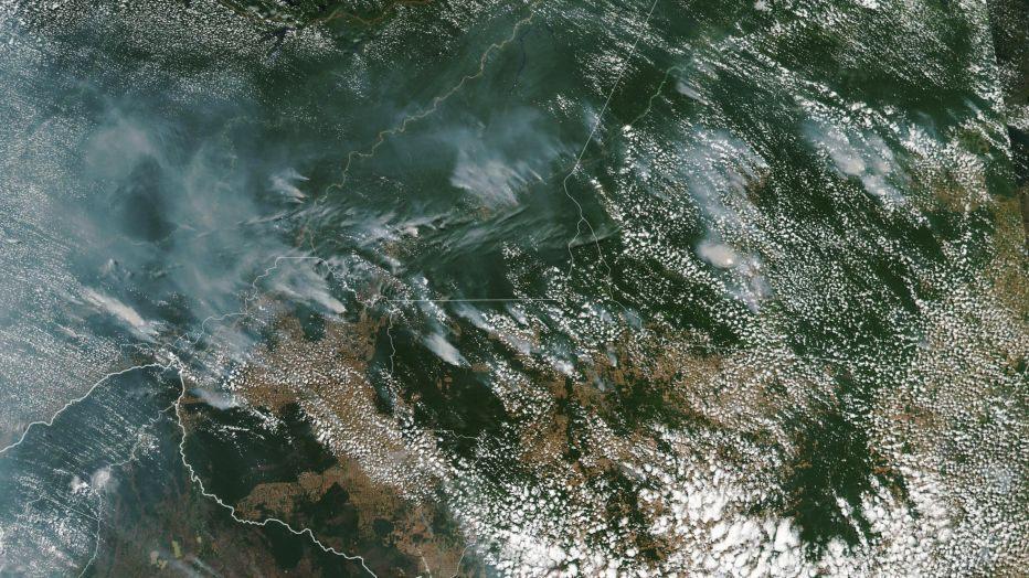 Fires in Brazillian Highlands