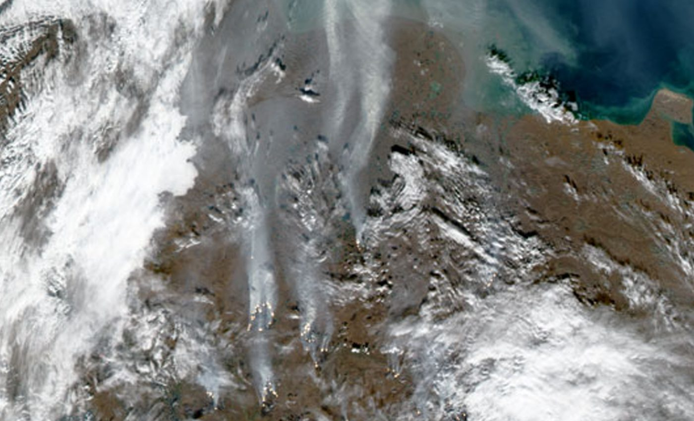 Late Summer Fires in Siberia
