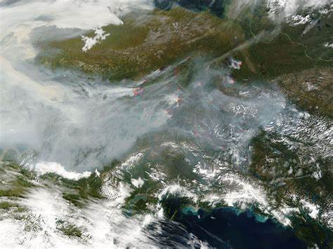 Wildfires Across Alaska