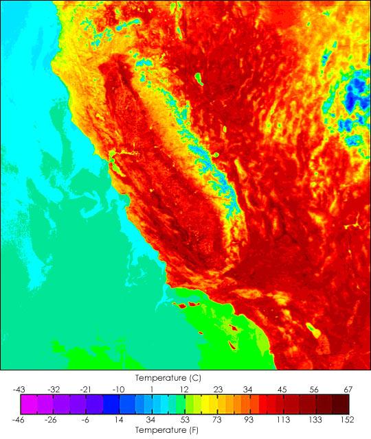 Springtime Heat Wave Bakes Southern California
