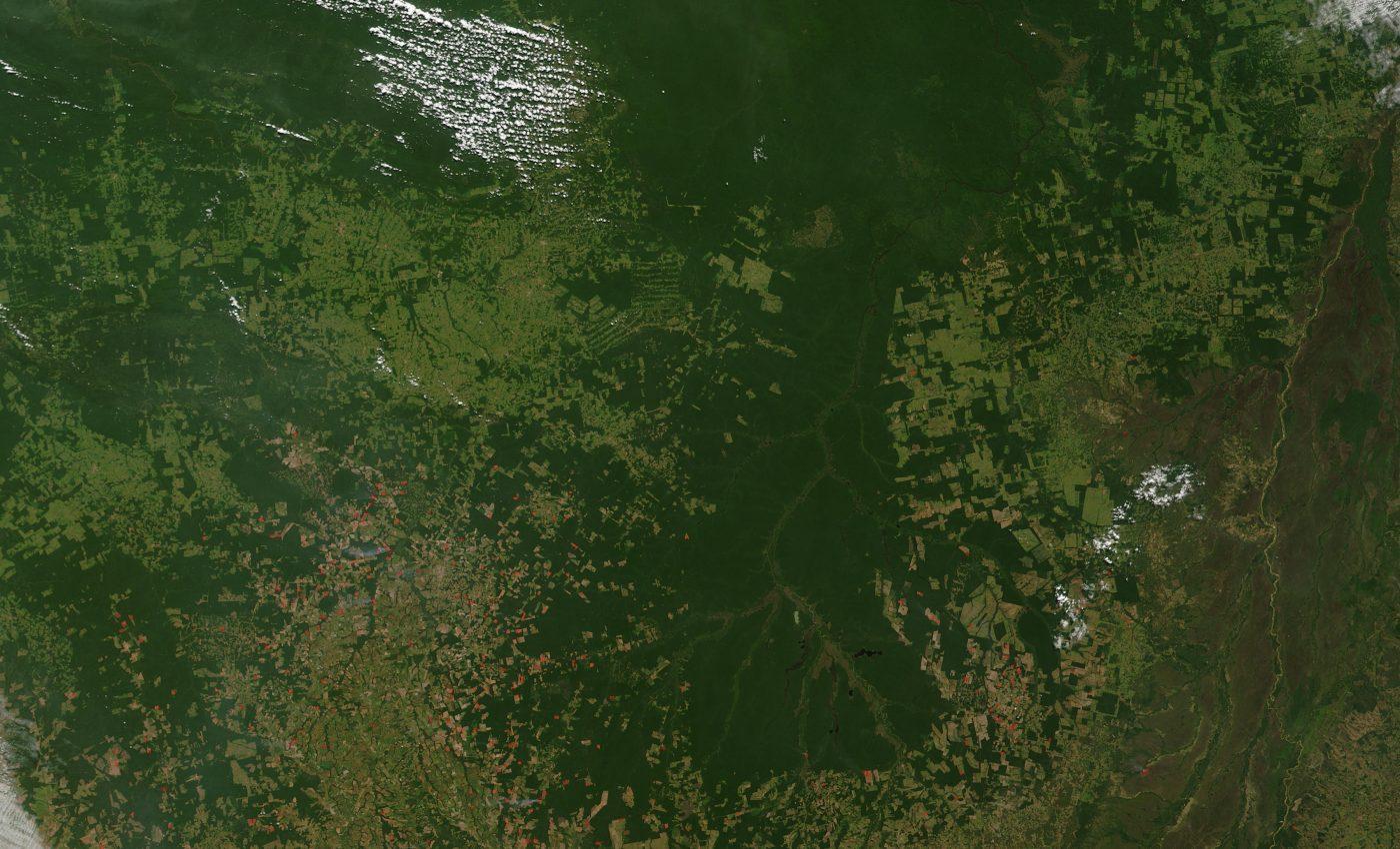 Fires Across Mato Grosso, Brazil