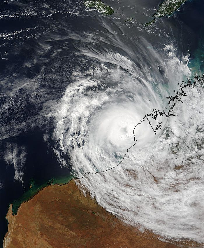 Tropical Cyclone Fay