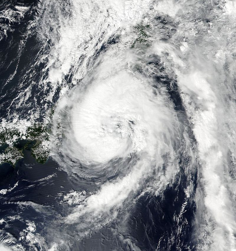 Typhoon Mindulle Approaching the Philippines