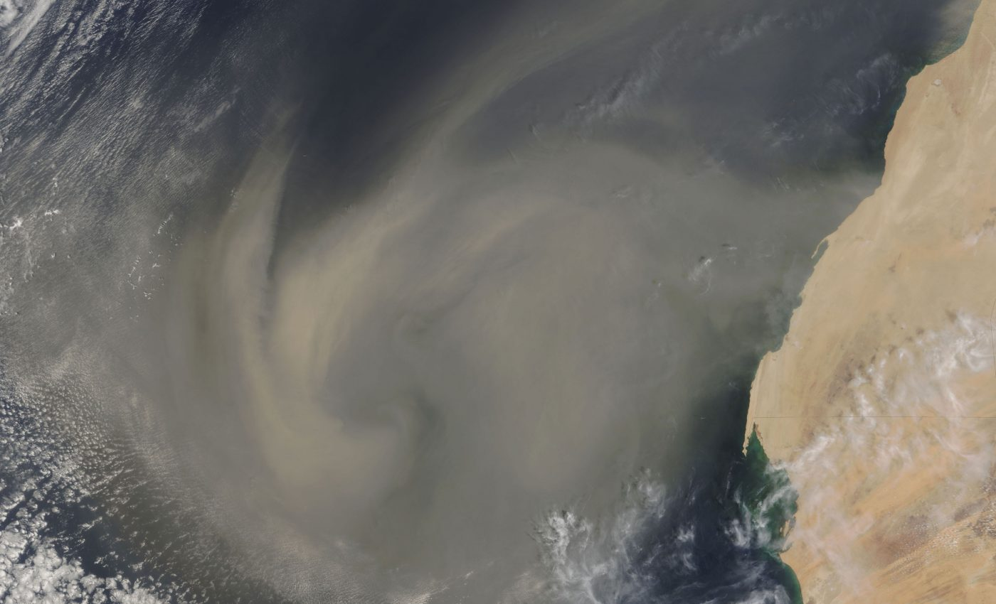 Dust Storm Across Central and West Africa