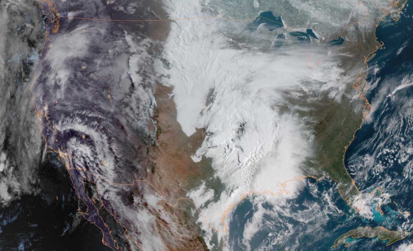 Thunderstorms Bring Floods to Texas