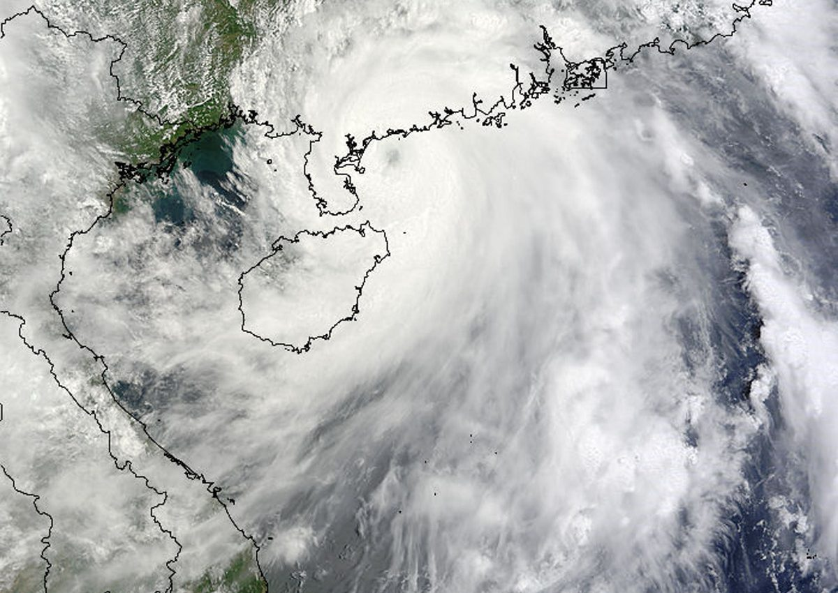 Tropical Storm Chanthu