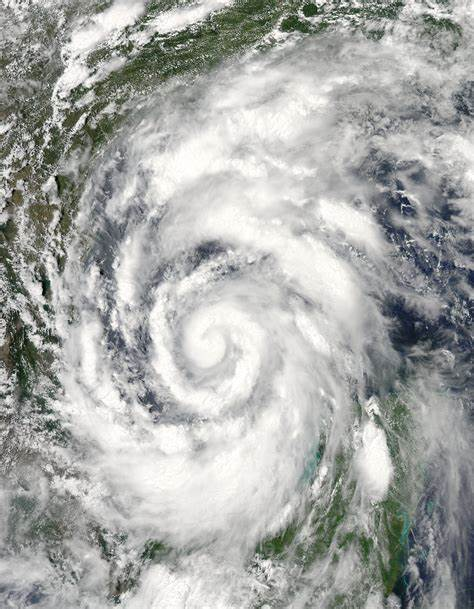 Hurricane Alex in the Gulf of Mexico
