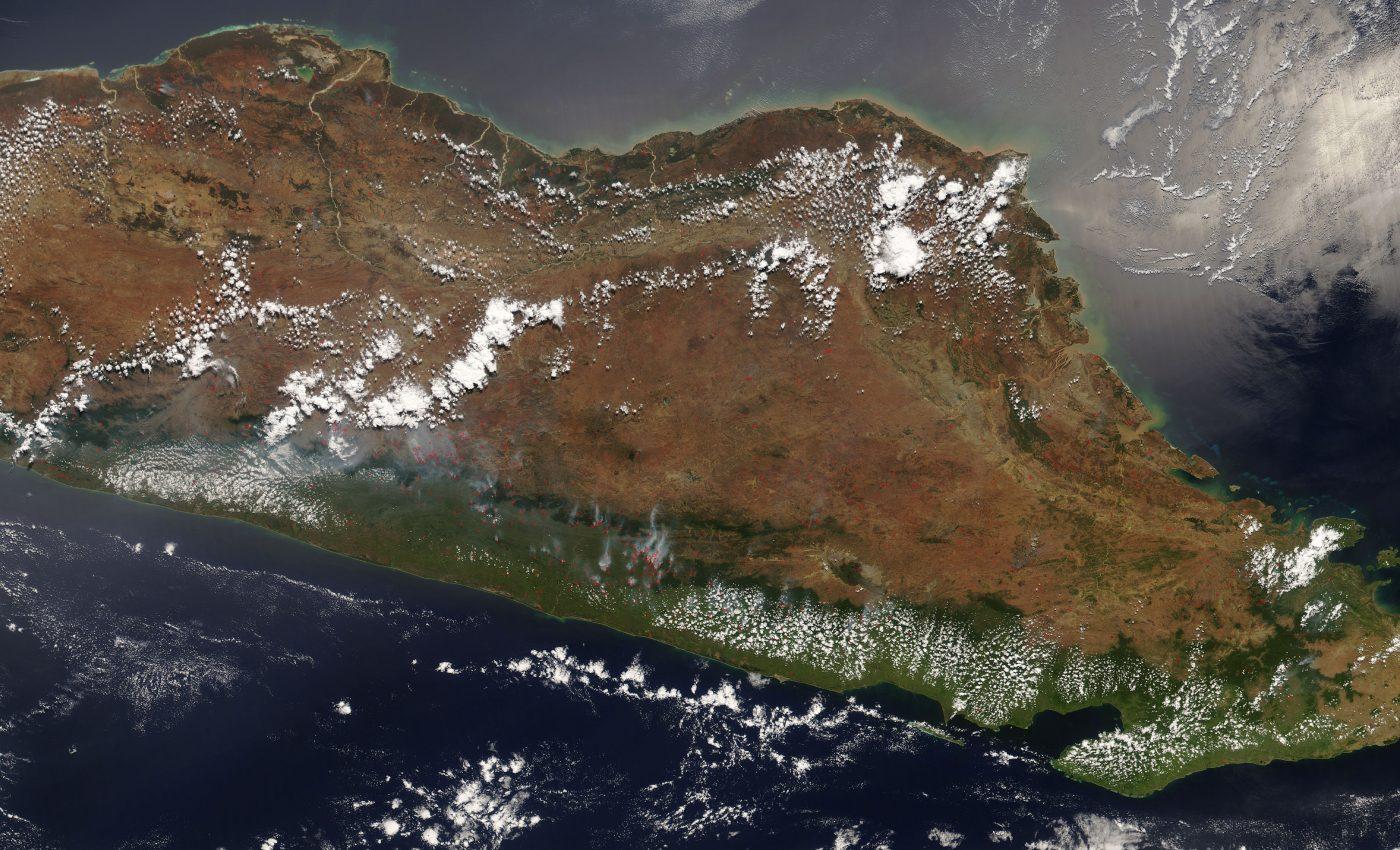 Fires in Madagascar