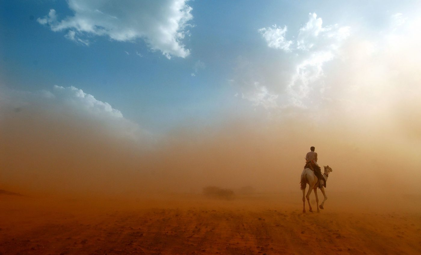 Dust Storm in Western Africa