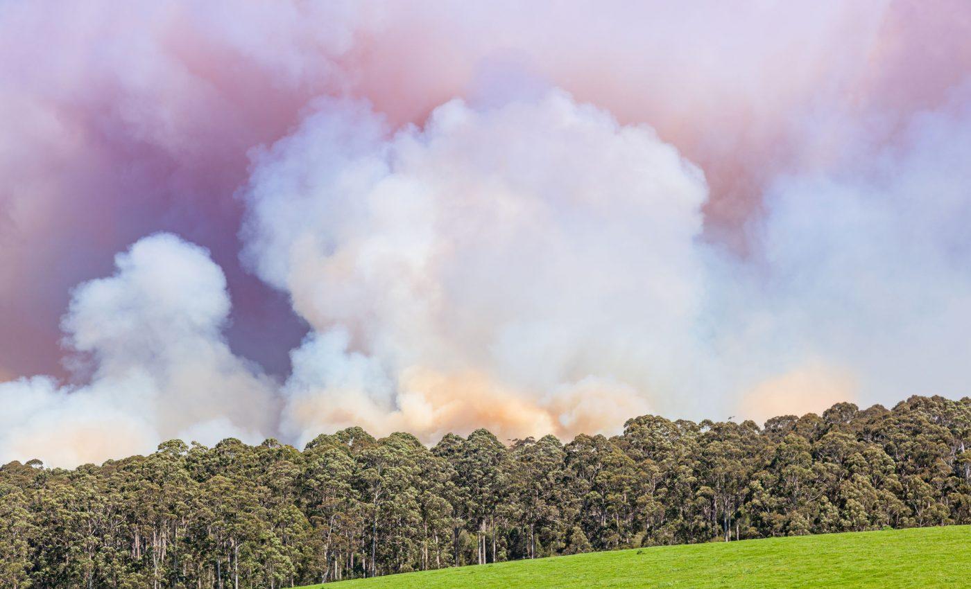 Fires in Western Australia