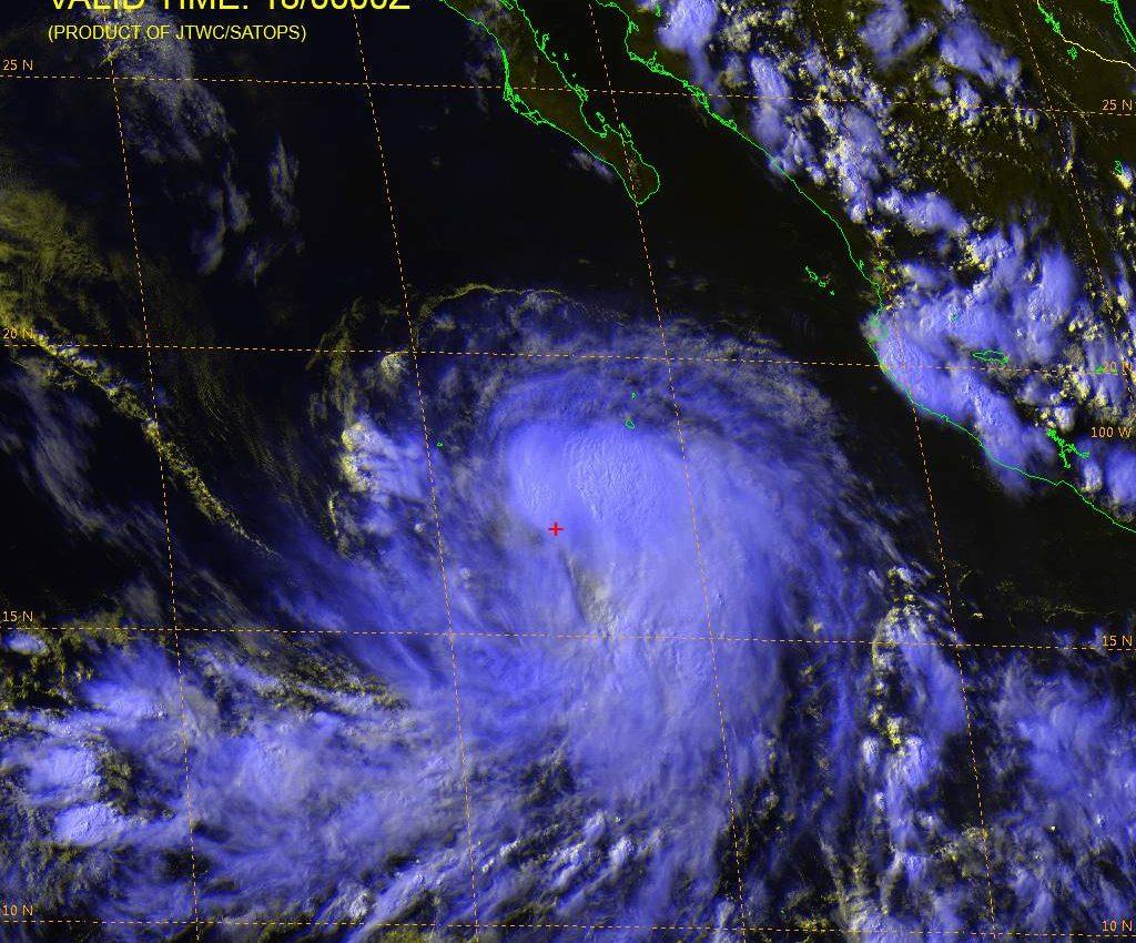 Tropical Storm Estelle
