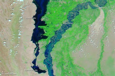 Rising Waters in Manchar Lake