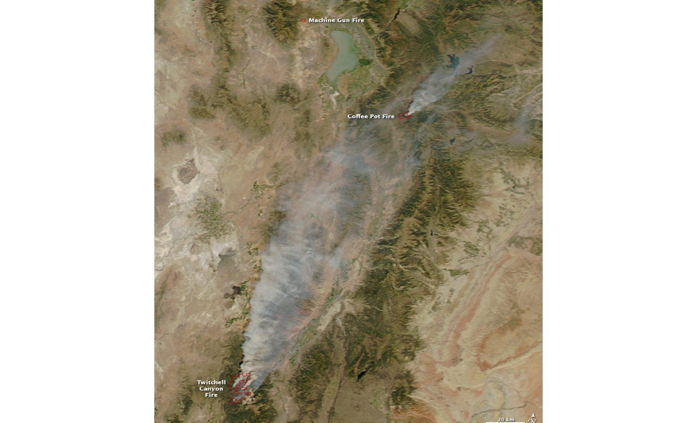 Fires in Utah