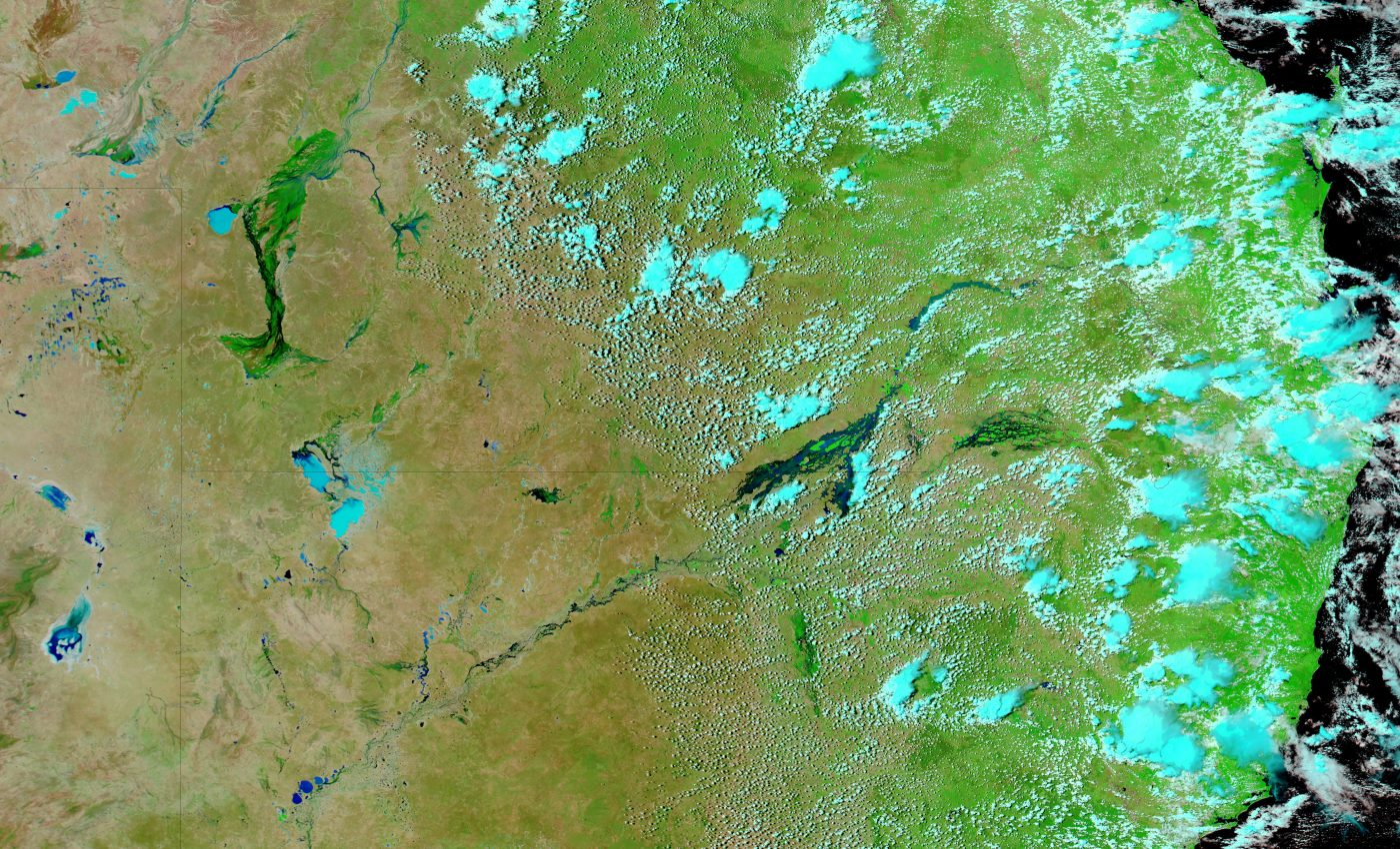 Flooding in the Australian Interior
