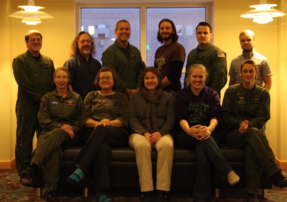 IceBridge LVIS Team in Greenland