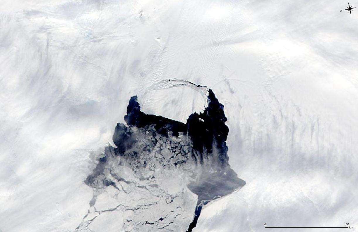 Pine Island Glacier 2013: Nov. 10