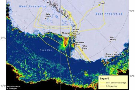 Antarctic 2013 Flight Lines