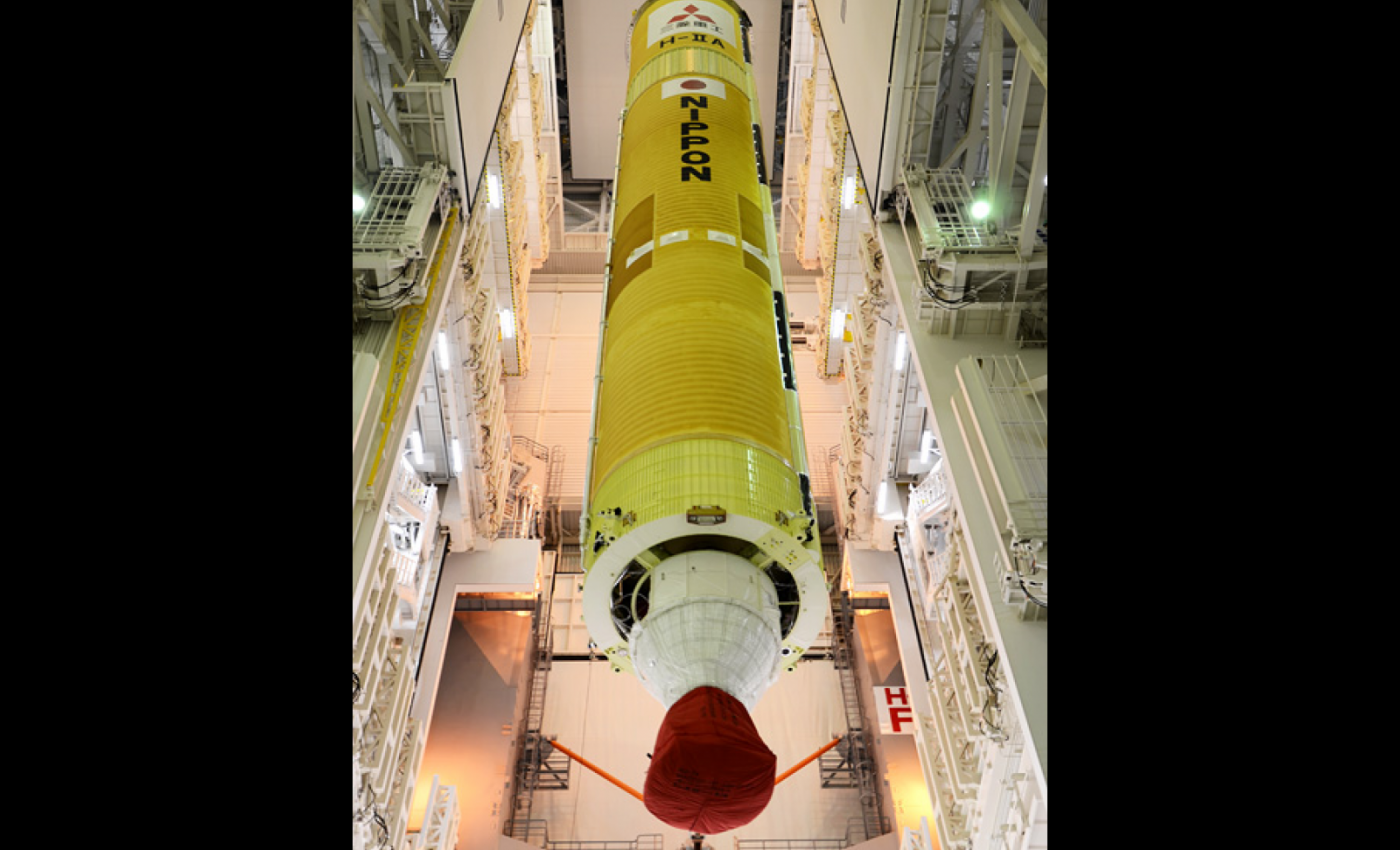 H-IIA Launch Vehicle No.23, First stage VOS