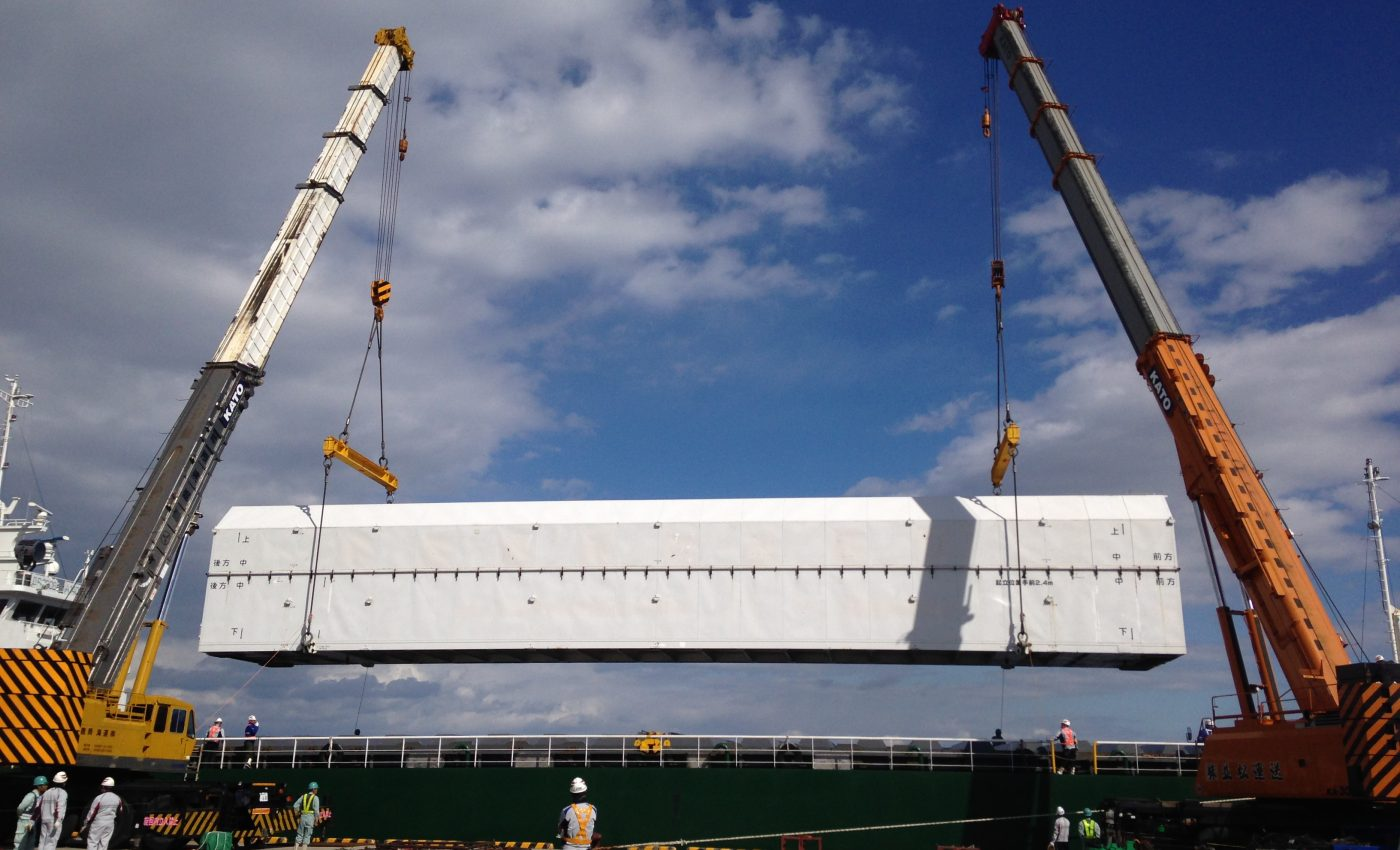 GPM's Launch Vehicle Arrives at Tanegashima Space Center