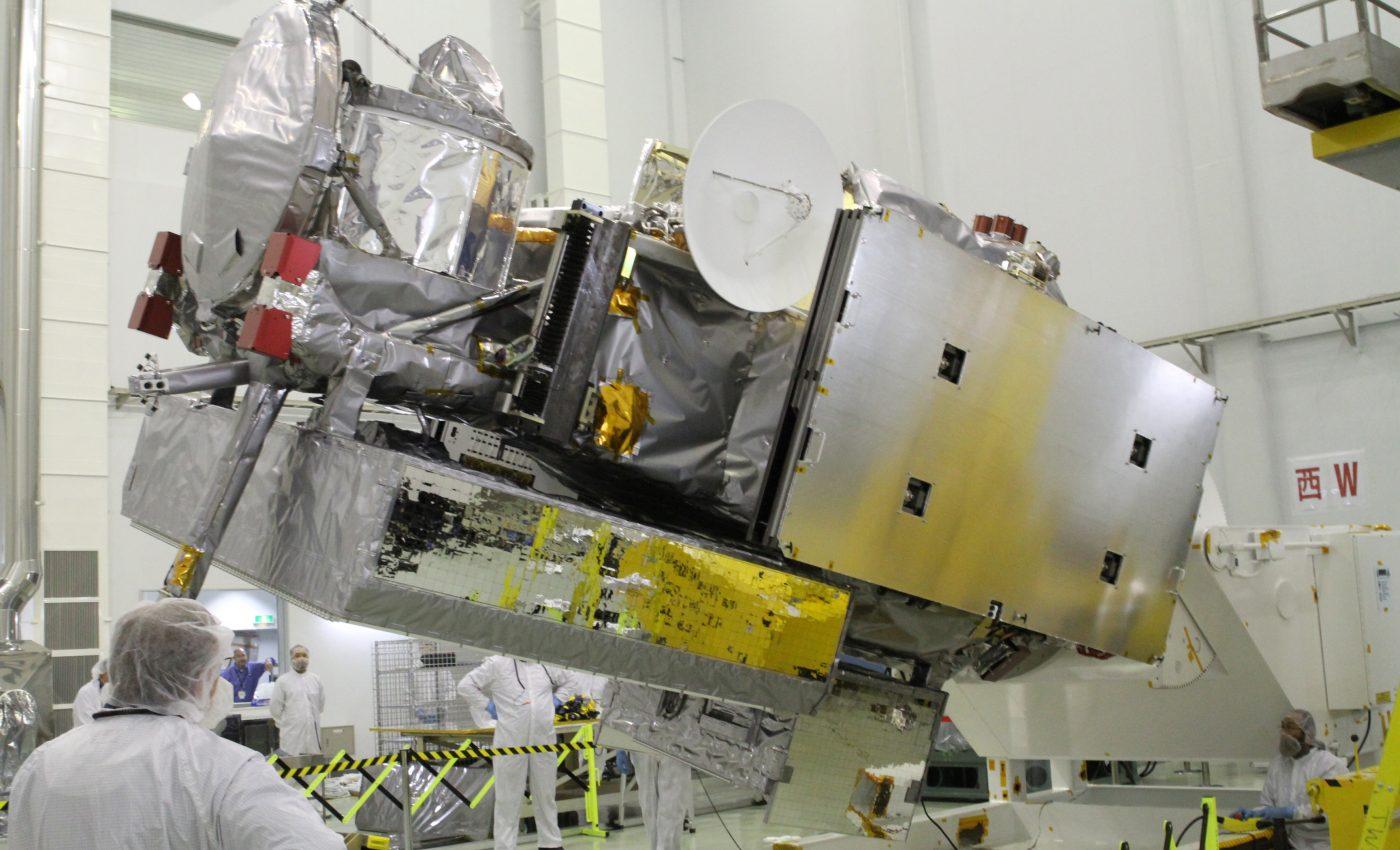 GPM Inspected in JAXA Cleanroom