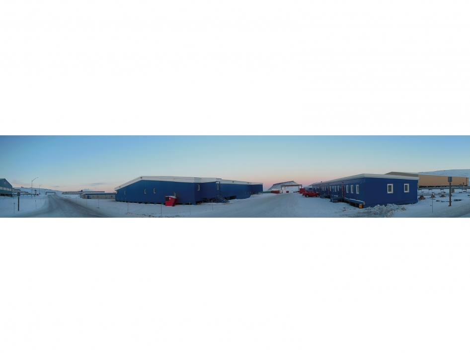 Panoramic View of Thule Air Base, Greenland