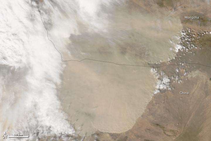 China's Great Wall of Dust