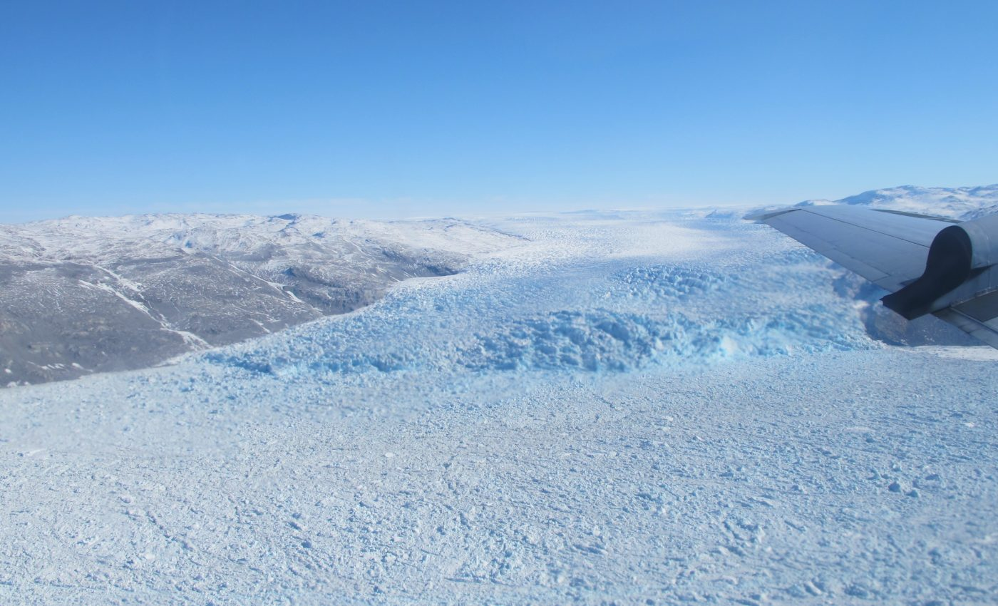 Calving Front of a Southwest Greenland Glacier