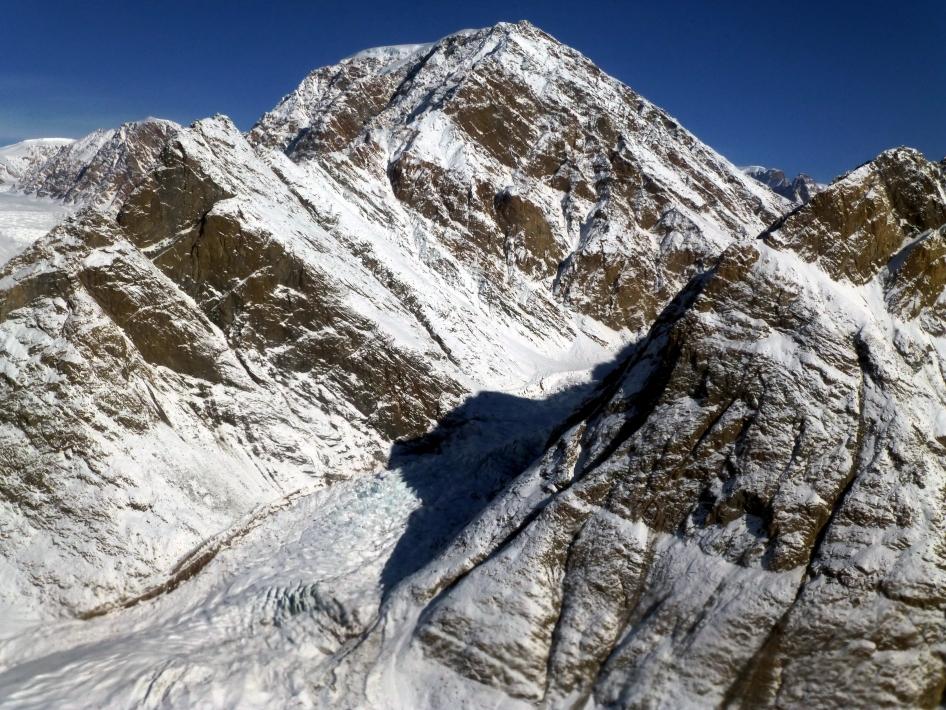 Valley Sidewall, Violin Glacier