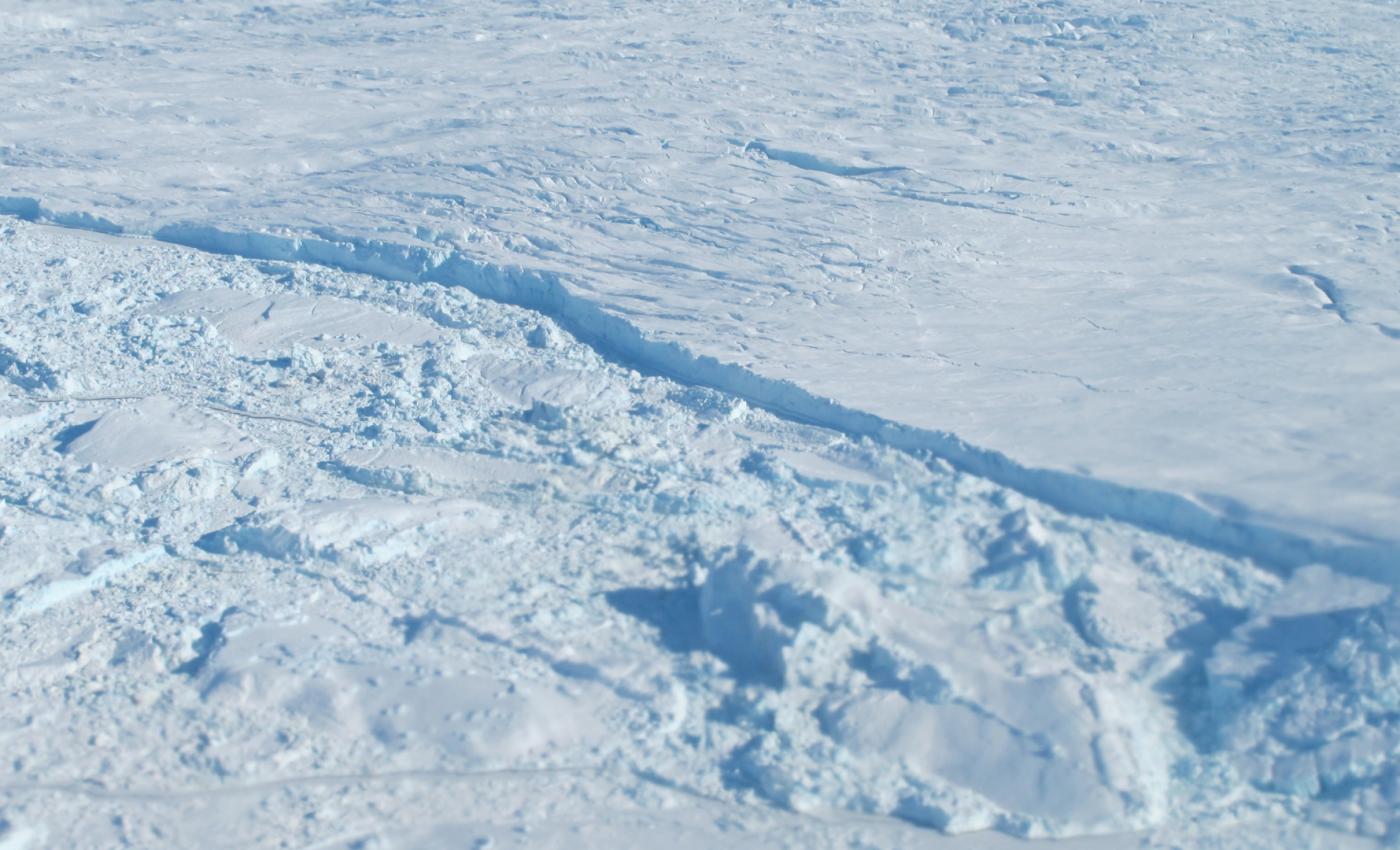 Calving Front of Humboldt Glacier