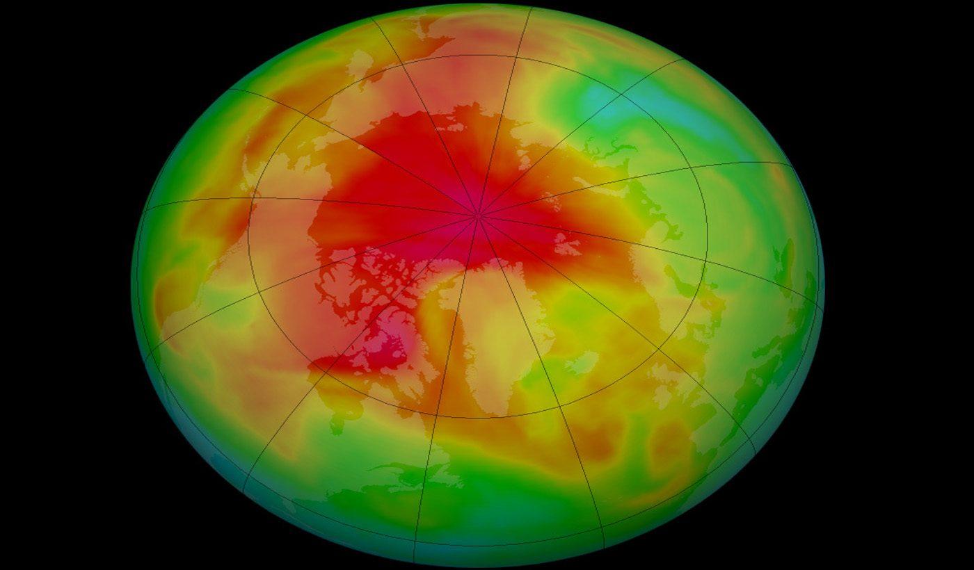 Arctic Ozone in Spring