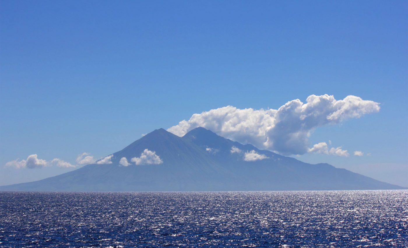 Sangeang Api Volcano In Indonesia