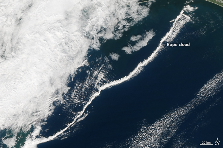 A Rope Ahead of a Cold Front