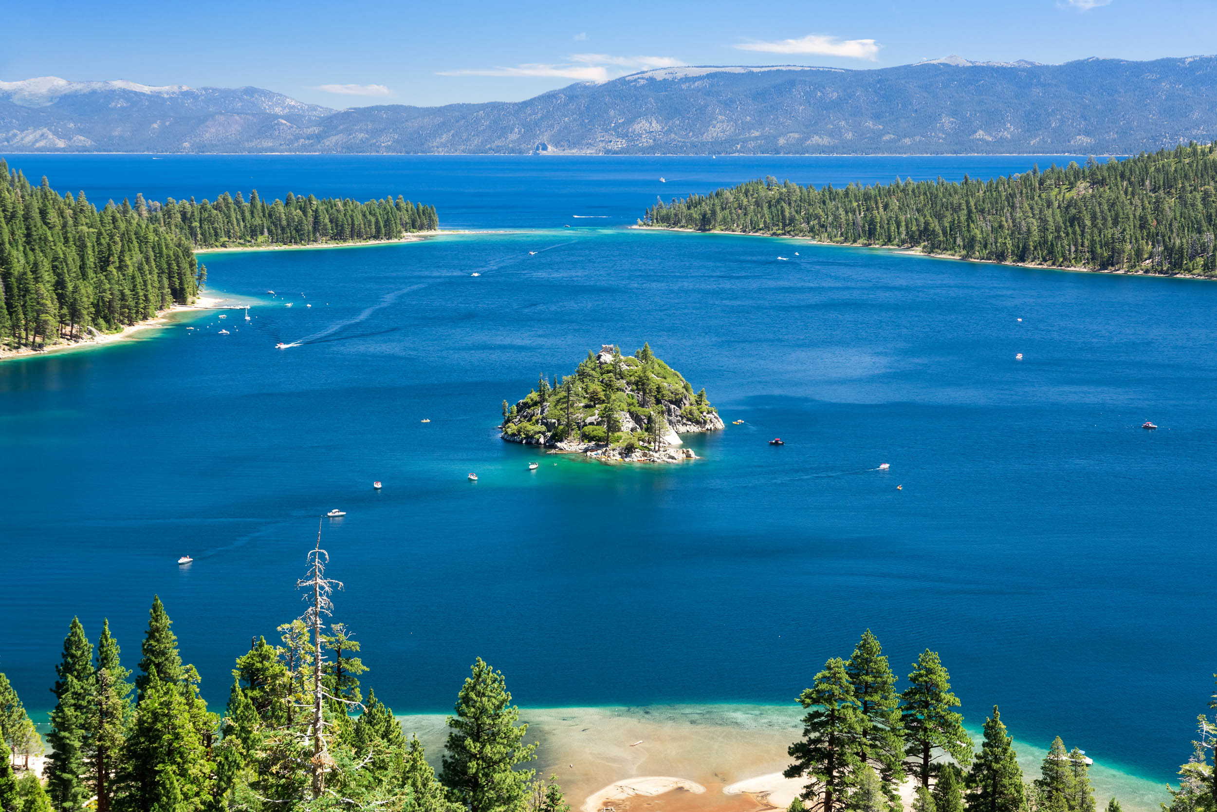 Lake Tahoe is warming 15 times faster than normal rate
