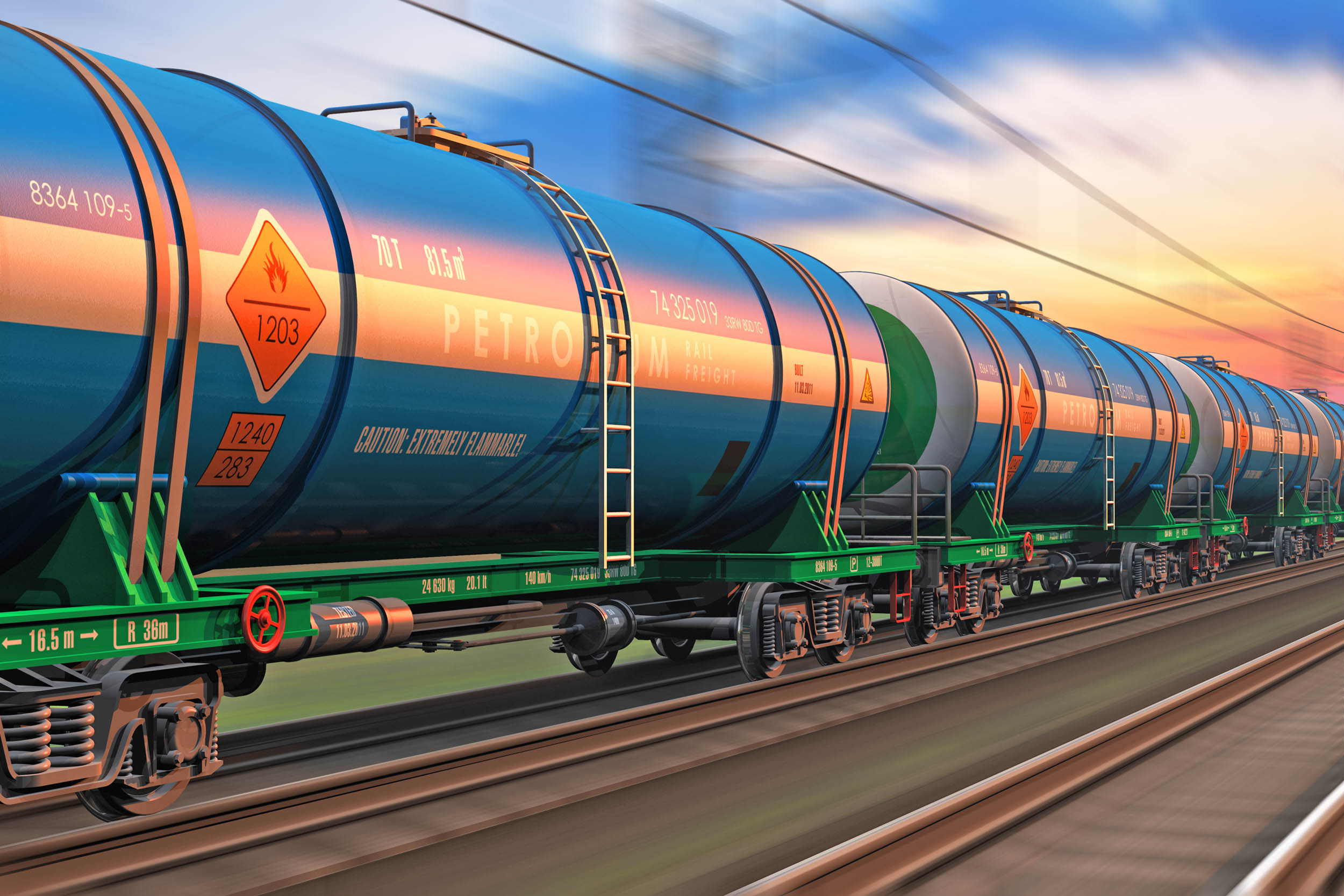 Feds: Railroads must have a plan for oil spills