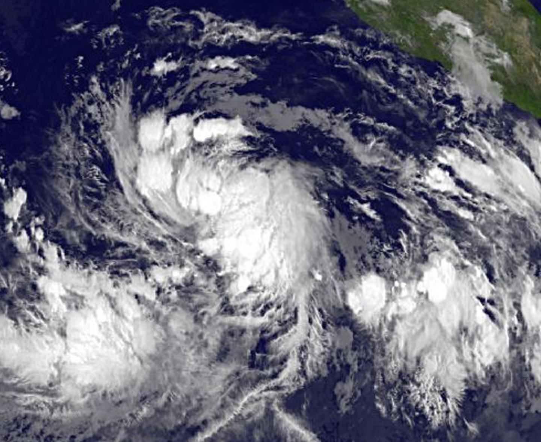 Tropical Depression 4E intensifies into Tropical Storm Celia