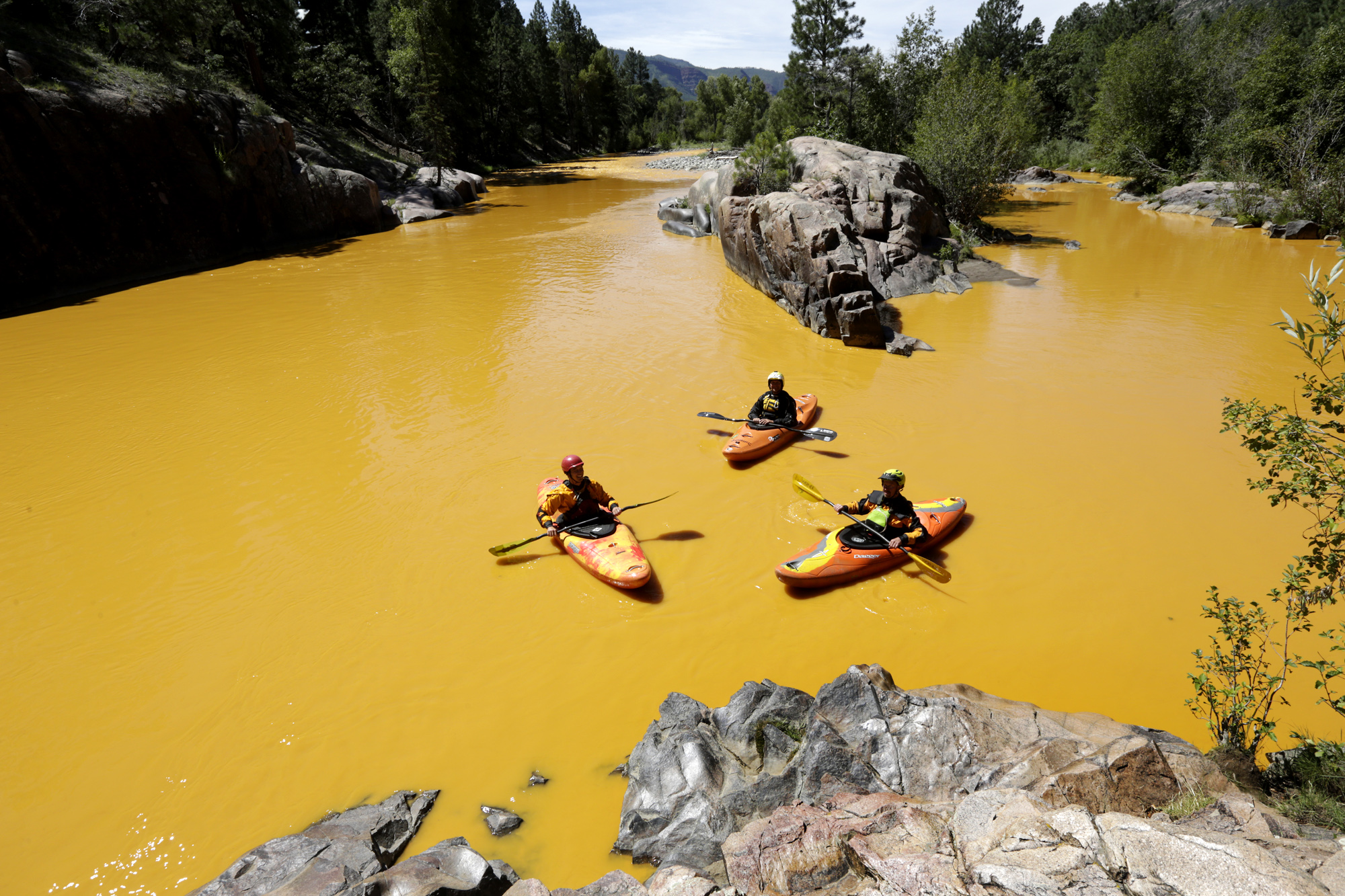 New Mexico is suing the state of Colorado, saying its northern neighbor should be held responsible for the contamination from the massive Gold King Mine waste spill