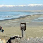 Great Salt Lake drought, September 2016