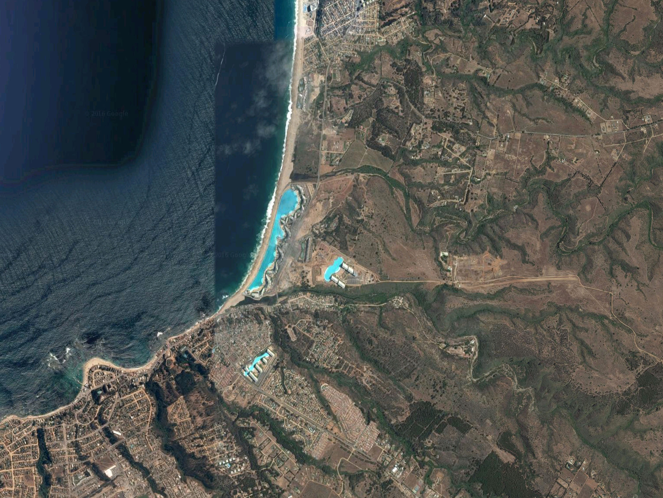 The World 39 S Largest Swimming Pool In Chile