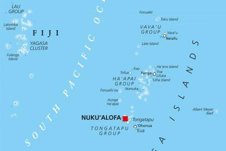 The Kingdom of Tonga archipelago