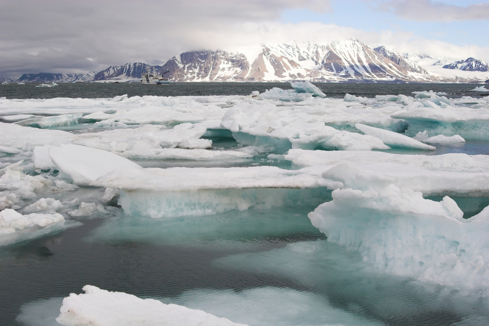 New video shows Arctic Sea Ice depletion