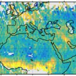 Carbon dioxide emission maps collected from NASA's Orbiting Carbon Observatory-2 satellite show just how much damage for which we are responsible.